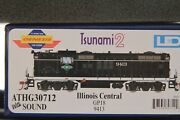 Athearn Genesis Ho Gp18 Illinois Central With Sound Athg30712 Last One