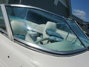 Starboard Curved Glass Windshield Panel Only Off 1992 Larson 200 Lazer Parting