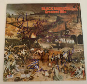 Black Sabbath Ozzy Iommi Butler Ward All 4 Signed Lp Psa And Beckett Certified