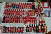 Coca Cola Bottle Collection 70 Bottles Free Shipping No.7188