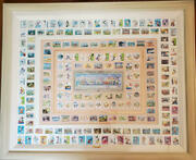 Disney Stamp Art Gallery 70th Anniversary Limited Edition Of 300 Pieces No.7246