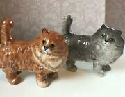 Vintage Beswick Cat Figurine Set Of From Japan No.7137