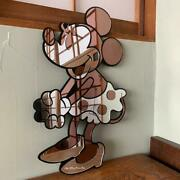 Vintage Disney Minnie Mouse Tenyo Wall-mounted Mirror From Japan No.1721