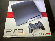Sony Playstation 3 Ps3 Slim 120gb Game Console Brand New