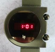 Lip Mach2000 Led Light Emitting Diode Menand039s Watch Tdiscontinued Mint