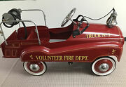 Gearbox Fire Truck No 1 Pedal Car Pick Up Only