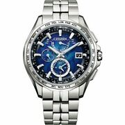 Citizen At9098-51l [citizen Yell Collection Attesa Eco Drive] Japan New F/s