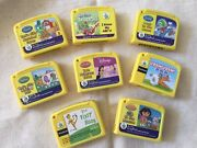 Lot Of 8 Leap Frog My First Leap Pad Game Cartridges Only -no Books