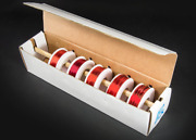Assorted Gauges Magnet Wire Kit - Enamel Coated Copper Wire 5 Spools - 22, 24,