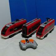 7938 Vintage Lego City Passenger Train Set With Instructions Discontinued