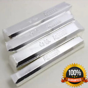 10g Pure Real Fine Silver 0.999 Bullion Bar With Stamp Scrap Ag Material New