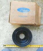 Nos Crankshaft Outer Pully For 1977-79 Ford Cars With A/c Tbird Torino +more