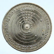 1973 Germany German Copernicus Anniversary Old Vintage Silver 5 Mark Coin I94547