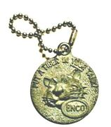 Tiger Enco Key Chain With Chain Put A Tiger In Your Tank