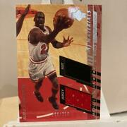 Michael Jordan Suit And Game Jersey Upper Deck 2000 Nba Insert Limited 250 Pieces