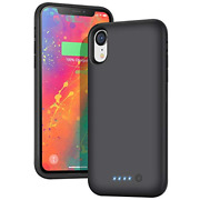 Battery Case For Iphone Xr,【6800mah High Capacity】 H H·e·t·p Charging Case...