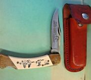Schrade + Usa Sc507 Limited Edition 013 Ducks Unlimited Folding Knife Rare