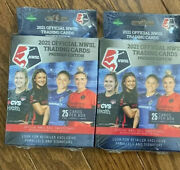 2021 Official Nwsl Trading Cards Premier Edition Pack Box Of 25 Cards Lot Of 2