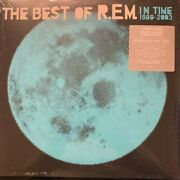 In Time The Best Of R.e.m. 2 Lp Blue Colored Vinyl New 2019 Barnes And Noble Rem