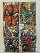 Sinister War 1-4 1 2 3 4 Marvel 2021 Bryan Hitch Main Cover Complete Set Nm