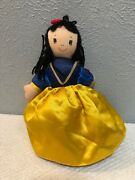 Disney Topsy Turvy Snow White Evil Queen Witch 10 Inches 3 In 1 Plush Doll
