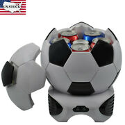 Portable 3.5l Soccer-styling Car Camping Outdoor Mini Fridge Heating And Cooling