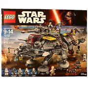 Lego 75157 Captain Rexand039s At-te Star Wars Rebels Complete In Box Never Built