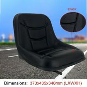 Universal Lawn Garden Tractor Seat Forklift Seat With Slidable Track For Drivers