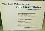Weather Proof Q-see High Resolution Hood Color Ir Day / Night Camera Qsb550sr
