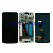 Lcd Display Touch Screen Digitizer Frame For Blackberry Dtek60 Bba100-2 Bba100-1
