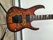 Rare Ibanez Rg320pg Electric Guitar With Emg 81 85 Made In Usa Active Pickups