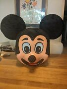 Mickey Mouse Mascot Costume Vintage Rare Adult Rare Hard Shell Good Condition