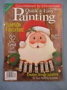 Quick And Easy Painting Patterns Christmas Santa Snowman Nativity Mouse Dog Pengui