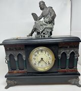 Antique Mantel Clock, Sessions Clock Co. The Welch Mfg, Forestville, Conn.,usa