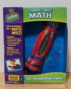 New Leap Frog Turbo Twist Math Electronic Interactive Math Tool Toy -grade 1-8