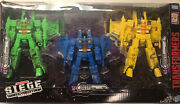 Transformers Siege Rainmakers 3-pack Seekers War For Cybertron In Hand Target