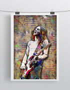 John Frusciante Of Red Hot Chili Peppers 24x36in Poster, Rhcp Free Shipping Us