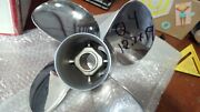 Quicksilver Q4 12.7 X 19 4-blade Stainless Outboard Propeller Mercury / Yamaha