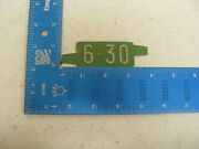 6-30 Delaware De License Plate Date Tag Tab Only Tab Only Kc 1
