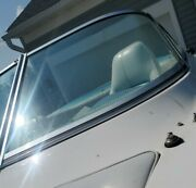 Port Curved Glass Windshield Panel Only Off 1992 Larson 200 Lazer Parting