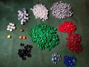 1200+ Plastic Bottle Caps Soda And Water Arts And Crafts Supplies Codes Lot Pop