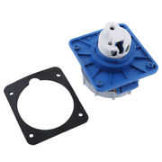 16a Marine Shore Power Socket Electrical Plug And Gasket For Boat Car Rv