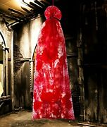 Halloween Decorations Bloody Body In A Bag - Hallowmas Outdoor Scary Props 67 In