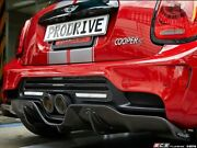 Duell Ag - Duell Ag F56-f57 Krone Edition V1.1 Rear Diffuser - Frp - F56rd1.1frp