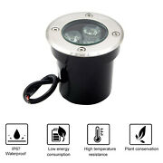 3w Buried Light Outdoor Led Underground Recessed Inground 110v For Pathway Patio