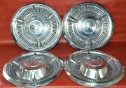 1958 Chevy Corvette Impala Bel Air Nomad Hubcaps 14 Wheel Covers Set Of 4