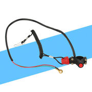 1x Engine Cord Lanyard Kill Stop Switch Safety Tether 12v Co For Motor Auto
