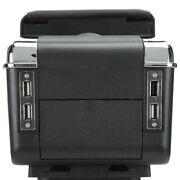 Universal Car Center Console Armrest Box Container Adjustable With Usb Auto