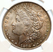 1878 P United States Of America Old Silver Morgan Us Dollar Coin Eagle I95569