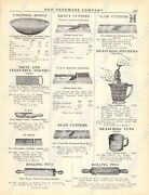 1920s Antique Hardware Ad Kitchenrolling Pins/vegcutters/meas.cups/buckets/kegs